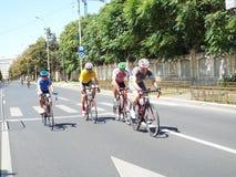 Kolarstwo rywalizacja w Bucharest Fotografia Stock