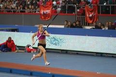 Kolasa Agnieszka - польский vaulter полюса Стоковая Фотография