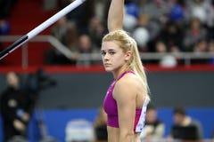 Kolasa Agnieszka - Polish pole vaulter Stock Image