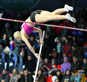 Kolasa Agnieszka - Polish pole vaulter Stock Images