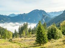 Kolbensattel near Oberammergau scenes Stock Photo