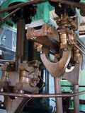 Kolbenstange - Dampf 1 stockfotos