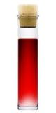 kolbiasty ciekły czerwony stopper Obraz Royalty Free
