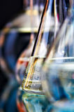 kolby szklane Zdjęcie Stock