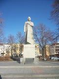 Kolchov. Monument in voronezh stock photography