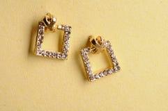 Kolczyki biżuteryjni Zdjęcia Royalty Free