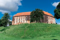 Koldinghus slott av Kolding i Danmark Arkivfoto