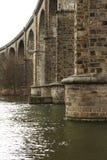 kolej bridge Obraz Royalty Free