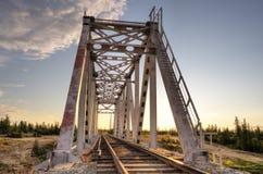 Kolej most Fotografia Stock