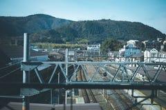 Kolej w Kyoto Zdjęcie Stock