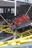 Kolejka górska samochód Zdjęcia Royalty Free