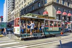 kolejki wagon San Francisco Zdjęcia Stock