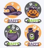 kolejna Halloween ikon dynia coś czarownice Zdjęcie Stock