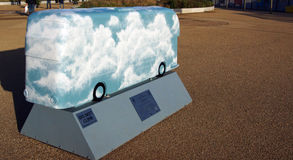 Kolejne pokolenie autobus Obrazy Royalty Free