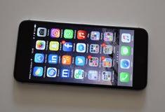 Kolejne pokolenie Smartphone obrazy royalty free