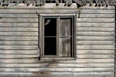 kolejny stary okno obraz stock