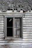 kolejny stary okno fotografia royalty free