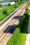 kolejowi ślada zdjęcie stock