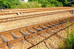 kolejowi ślada zdjęcie royalty free