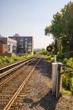 kolejowi ślada Zdjęcia Stock