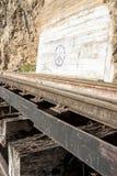 Kolejowi graffiti Zdjęcie Stock