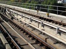 kolejowi ślada Fotografia Stock