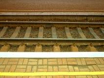 Kolejowi ślada przy stacjami HDR Obrazy Stock