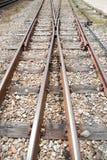 Kolejowy crossway Obrazy Stock