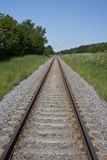 kolejowy ślad Zdjęcie Royalty Free