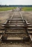 kolejowy ślad Obraz Royalty Free