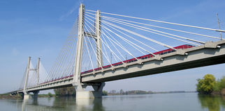 Kolejowy most Fotografia Stock