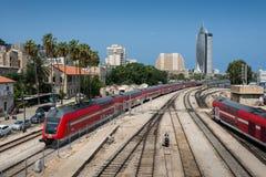 Kolejowy muzeum w Haifa Fotografia Royalty Free