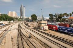 Kolejowy muzeum w Haifa Obraz Stock