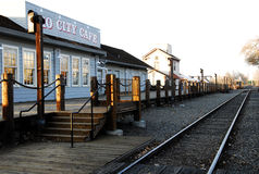 kolejowy Sacramento Obrazy Royalty Free