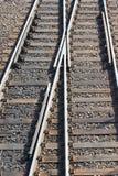 Kolejowy skrzyżowanie Obraz Stock