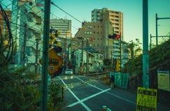 Kolejowy skrzyżowanie w Tokio Obraz Royalty Free