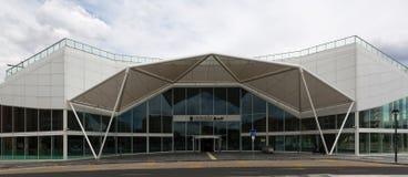 Kolejowy terminal w Logrono, Hiszpania obrazy stock