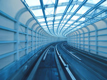 kolejowy tunel fotografia stock