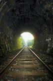 Kolejowy tunel Obraz Royalty Free