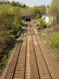 Kolejowy tunel przy Walsden Fotografia Stock
