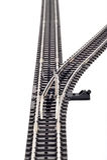 kolejowy złącze ślad Obraz Stock
