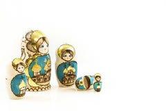 Kolekci Babushka Polskie tradycyjne lale Obrazy Royalty Free