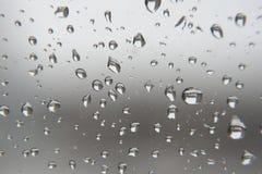 kolekci kropel natury deszczu okno Płytki DOF Obrazy Stock