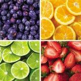 kolekci owoc Obrazy Royalty Free