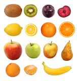 kolekci owoc Obraz Royalty Free