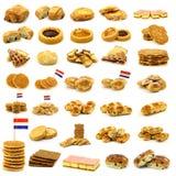kolekci piec ciasto świeżo Zdjęcie Stock