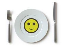 kolekci tutaj pchnięcia tableware Obraz Royalty Free