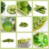 kolekci zieleń Zdjęcie Stock