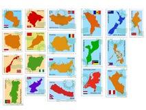 kolekci znaczka wektor ilustracji