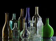 Kolekcj butelki Zdjęcie Stock